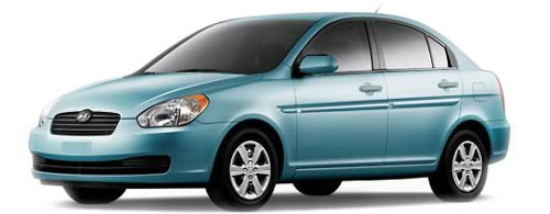 2009 Hyundai Accent   High MPG Sedan