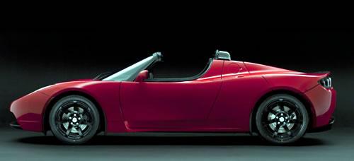 2009 Tesla Motors Roadster Electric Car Convertible