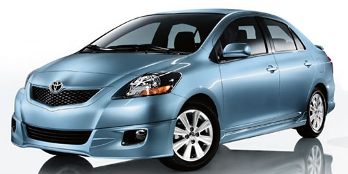 2009 toyota yaris high mpg sedan priced under 13 000. Black Bedroom Furniture Sets. Home Design Ideas