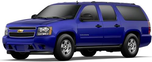 2010 Chevrolet Suburban E85 FlexFuel SUV Priced Under 41000