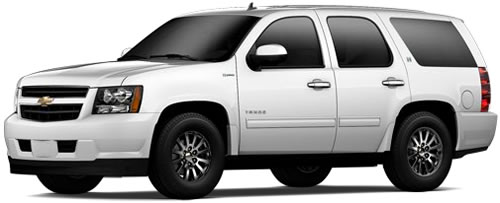Running On Gas Battery The Tahoe Hybrid Gets 21 Mpg City 22 Highway A Combined