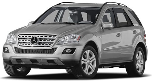 2010 Mercedes Benz Ml450 Hybrid Suv
