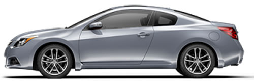 ... 2 Passenger Doors And Seating A Maximum Of 5 People, With A Price  Starting At $22,940. Running On Gasoline, The Altima Coupe Gets 23 MPG  City, ...