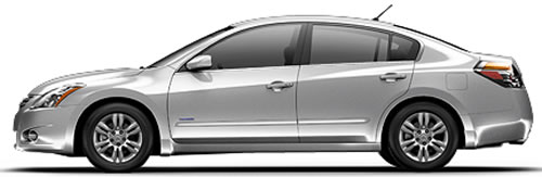 Nice Running On Gas+Battery, The Altima Hybrid Gets 35 MPG City, 33 Highway MPG,  A Combined 34 MPG.