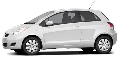 Running On Gasoline, The Yaris Gets 29 MPG City, 36 Highway MPG, A Combined  32 MPG.