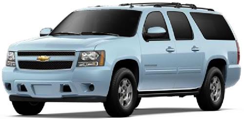 2011 Chevrolet Suburban E85 Flex-Fuel SUV Priced Under $42,000