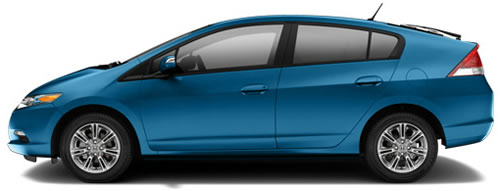 Running On Gas+Battery, The Insight Gets 40 MPG City, 43 Highway MPG, A  Combined 41 MPG.