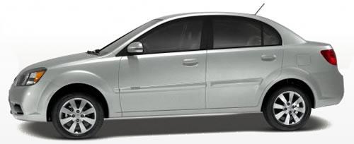 2011 kia rio high mpg sedan priced under 13 000. Black Bedroom Furniture Sets. Home Design Ideas