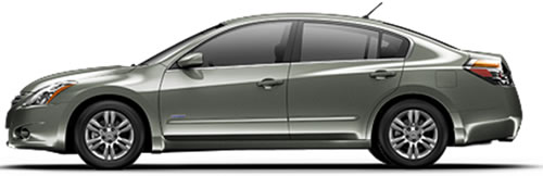 2011 nissan altima hybrid hybrid sedan priced under 27 000. Black Bedroom Furniture Sets. Home Design Ideas