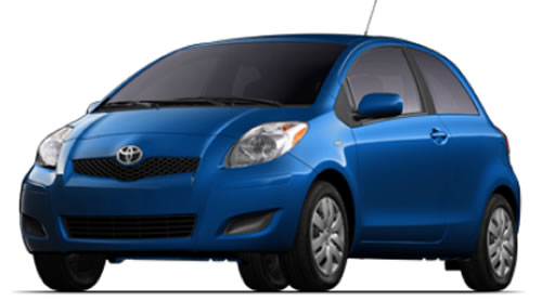 Hatchback With  Passenger Doors And Seating A Maximum Of  People With A Price Starting At  Running On Gasoline The Yaris Gets  Mpg City