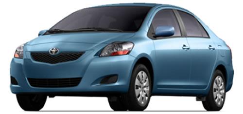 2011 toyota yaris high mpg sedan priced under 14 000. Black Bedroom Furniture Sets. Home Design Ideas