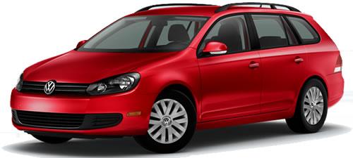 2011 Volkswagen Jetta SportWagen High MPG Station Wagon Priced Under $20,000