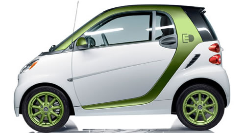 The 2017 Smart Fortwo Electric Drive Coupe Is A Car Green Vehicle With 2 Penger Doors And Seating Maximum Of People