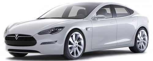 2012 Tesla Motors Model S Electric Car Sedan Priced Under