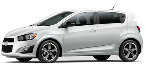 Running On Gasoline, The Sonic Hatchback Gets 29 MPG City, 40 Highway MPG,  A Combined 33 MPG.